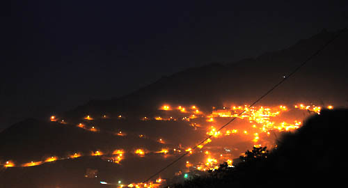 Jiufen night shot.