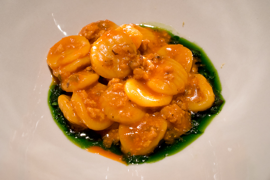orchiette - octopus, pepper, olive