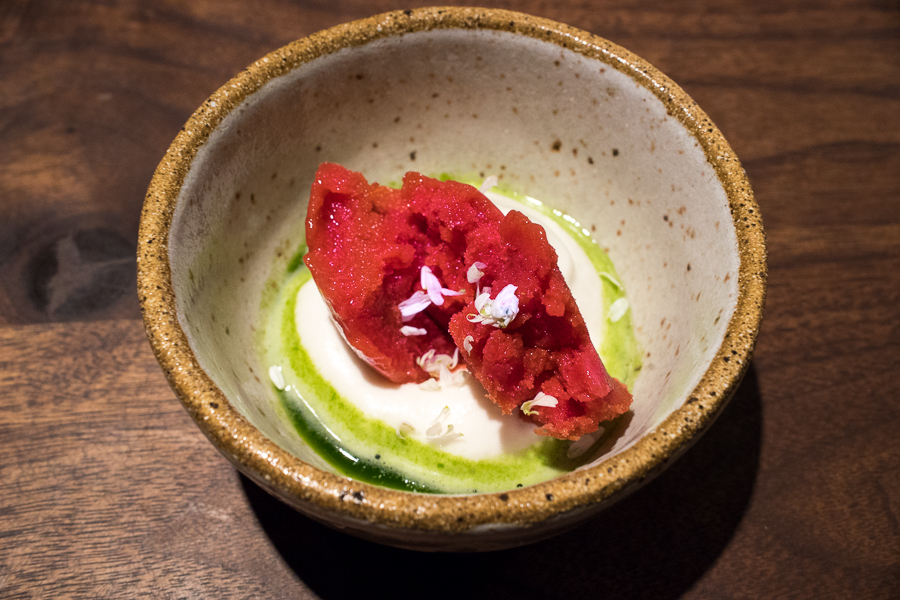 strawberry - chamomille, sorrel
